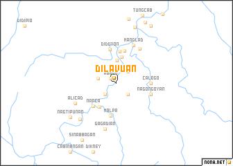 map of Dilavuan