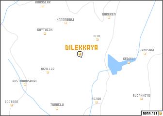map of Dilekkaya
