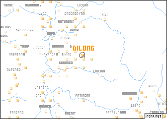 map of Dilong