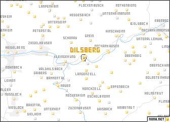 map of Dilsberg