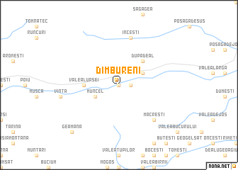 map of Dîmbureni
