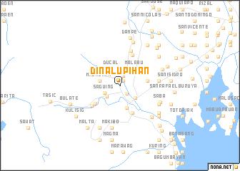 Dinalupihan Philippines Map Nona Net