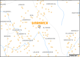 map of Dinamarca