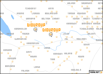 map of Diouroup