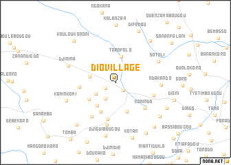 map of Dio-Village