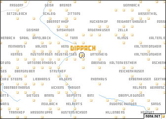 map of Dippach