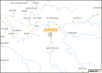 map of Dipusu