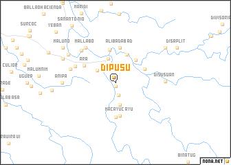 map of Dipusu
