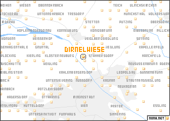 map of Dirnelwiese