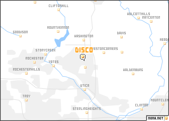 map of Disco