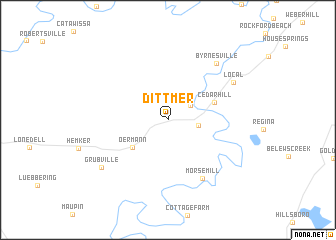 map of Dittmer