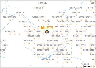map of Divetsi