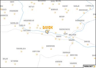 map of Divok