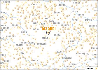 map of Dizdari