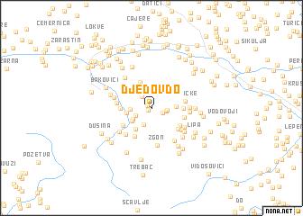map of Djedov Do