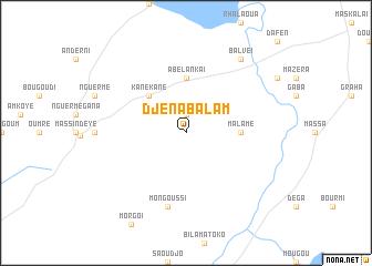 map of Djenabalam