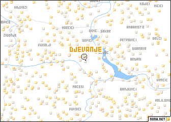 map of (( Djevanje ))