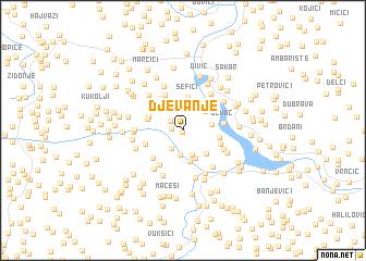 map of (( Djevanje ))