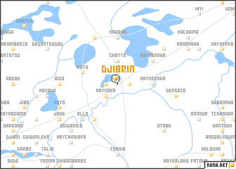 map of Djibrin