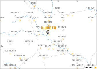 map of Djiméta