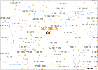map of Dlaoula