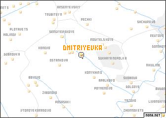 map of Dmitriyevka