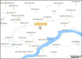 map of Dnesino