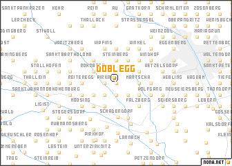 map of Doblegg