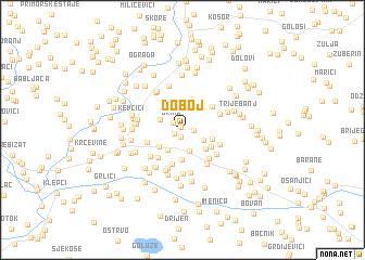 map of Doboj