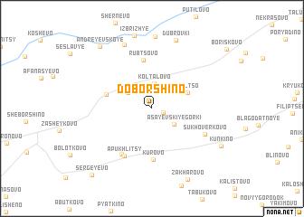 map of Doborshino