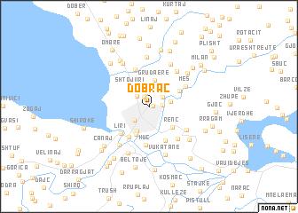 Dobra Albania map nonanet