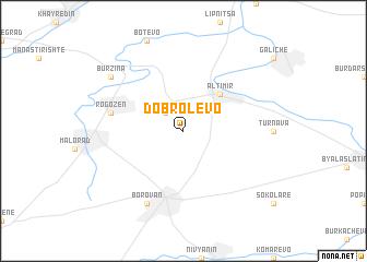 map of Dobrolevo