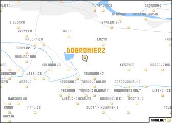map of Dobromierz