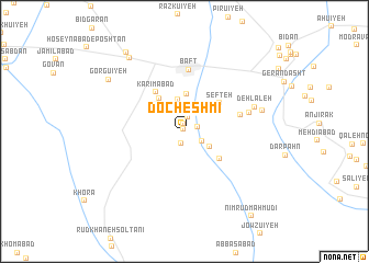 map of Docheshmī