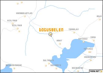 map of Döğüşbelen