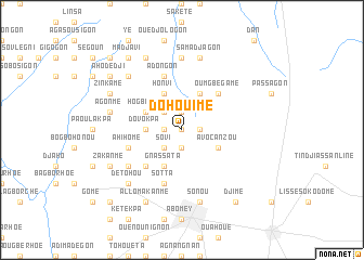 map of Dohouimè