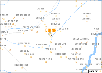 map of Doima