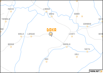 map of Doka