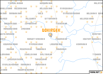 map of Dokirgek