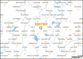 map of Dokyaik