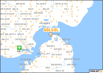 map of Doldol