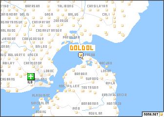 map of Doldol