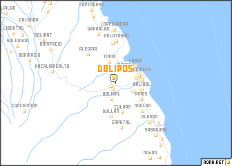map of Dolipos