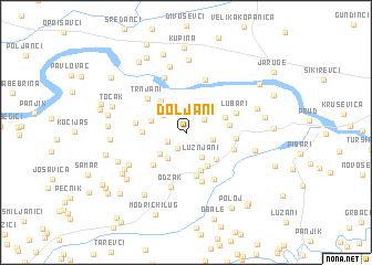 map of Doljani