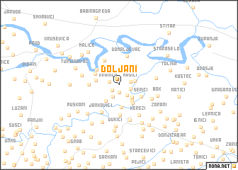 map of Doljani