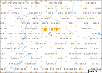 map of Dollberg