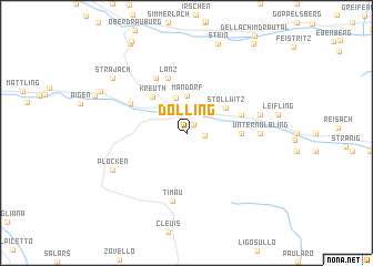 map of Dolling