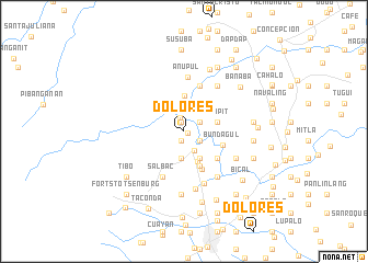 map of Dolores