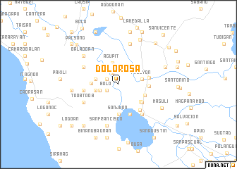 map of Dolorosa