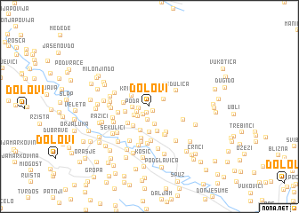 map of (( Dolovi ))